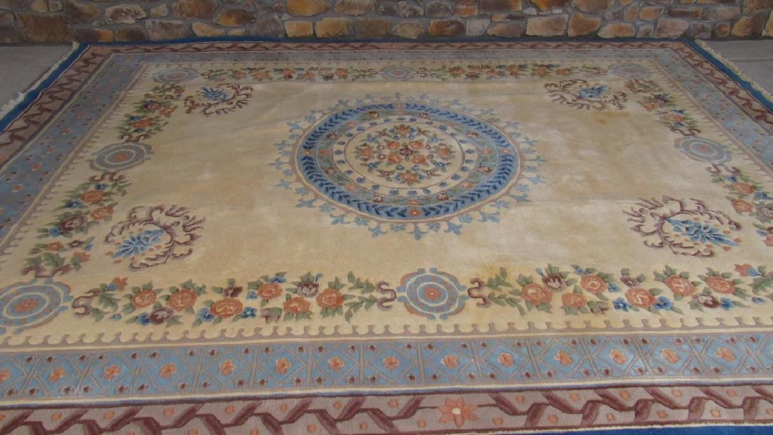 Beautiful Oriental Wool Area Rug