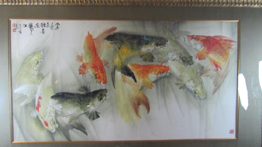 Large Chinese water color Painting - 2