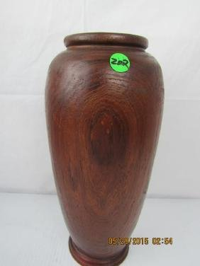 Old Yellow Rosewood Jar