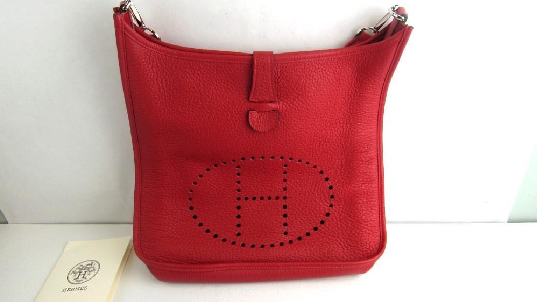 Rouge Leather Evelyne lll 29 Bag
