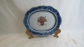17th Century Qing Dynasty Porcelain Plate