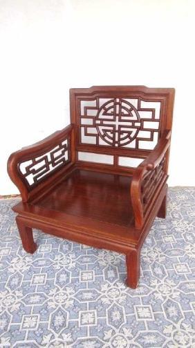 Chinese Huang Huali Wood Chair