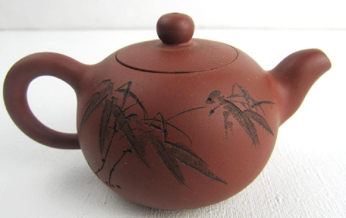 Qing Yongzheng Palm Teapot - 3