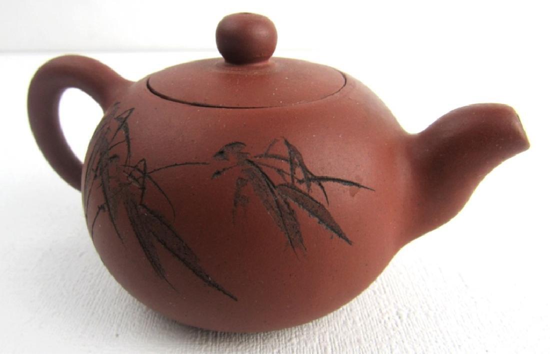 Qing Yongzheng Palm Teapot - 4