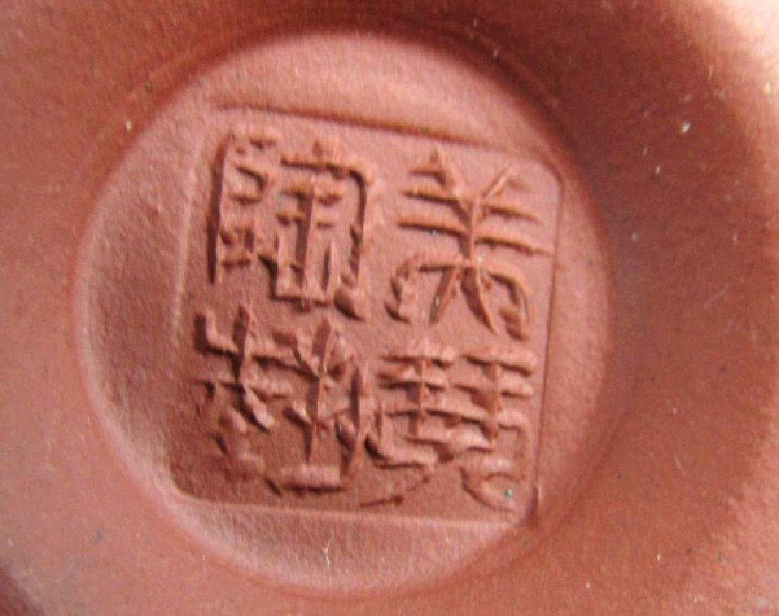 Qing Yongzheng Palm Teapot - 5
