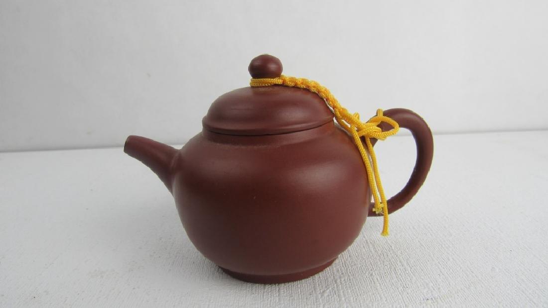 Qing Yongzheng Palm Teapot - 8