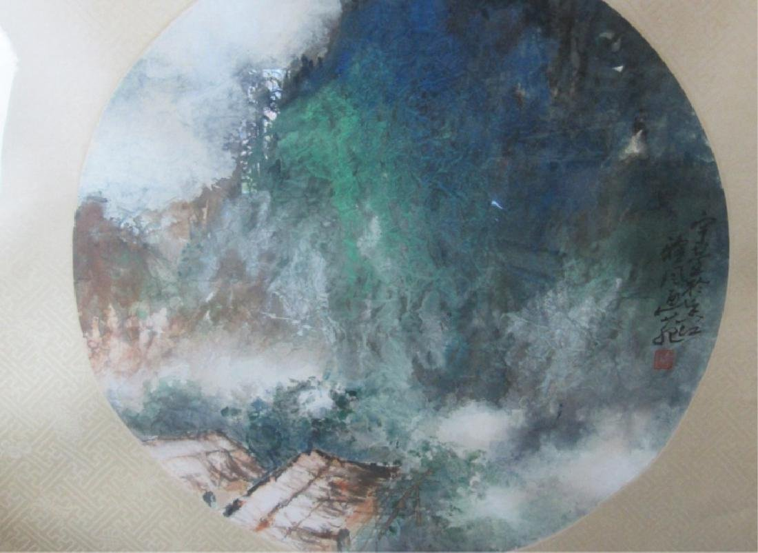 A Old Chinese Watercolor Painting - 3