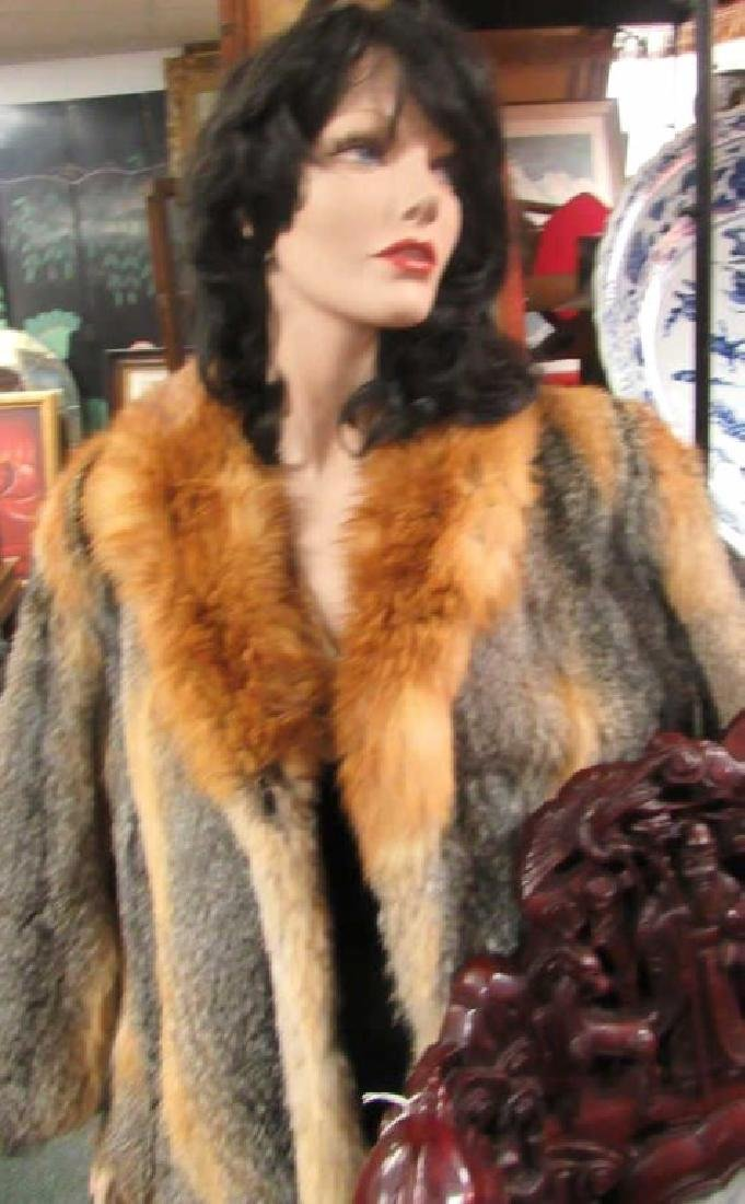 Golden Fox Fur Jacket EDI