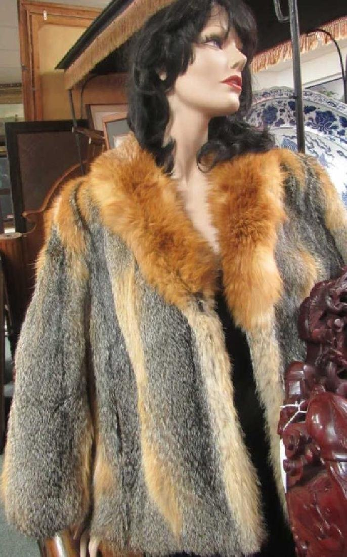 Golden Fox Fur Jacket EDI - 2