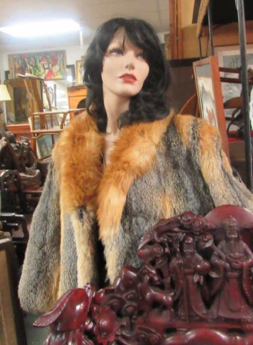 Golden Fox Fur Jacket EDI - 3