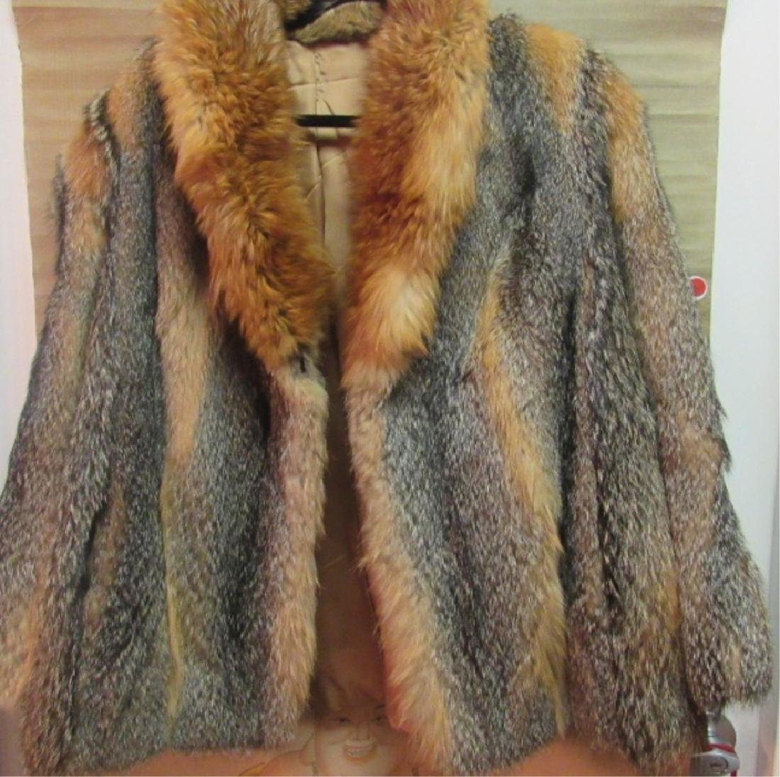Golden Fox Fur Jacket EDI - 4