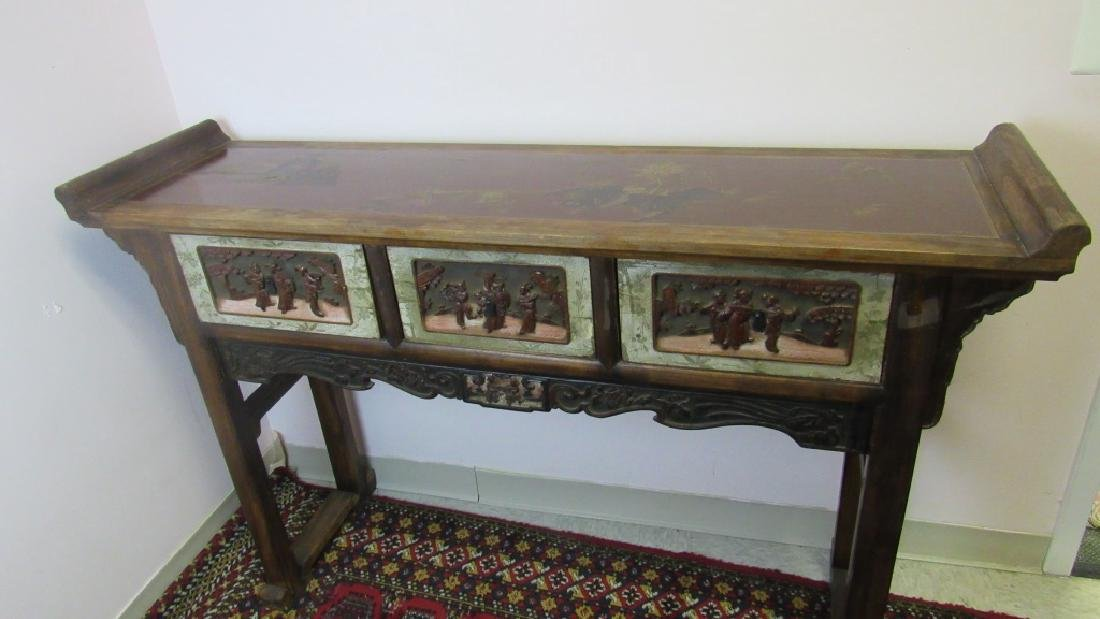 19th Century Chinese Wood Altar - 2
