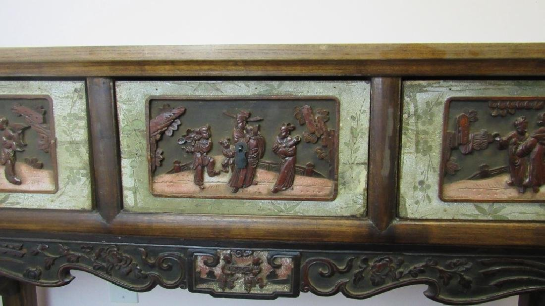 19th Century Chinese Wood Altar - 3