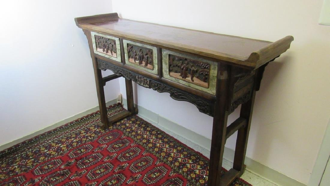 19th Century Chinese Wood Altar - 6