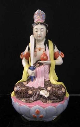 19th Century Chinese Porcelain Budda
