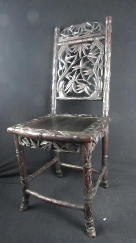 Baroque Huanghuali Childs Chair