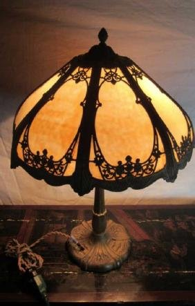 Old Tiffany Style LampA