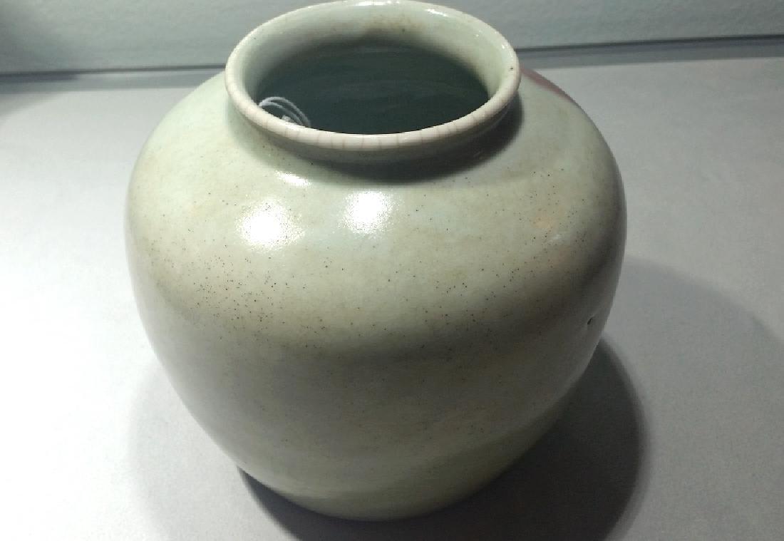 Chinese Flambe Glaze Vase - 3