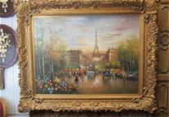 French European Oil Painting