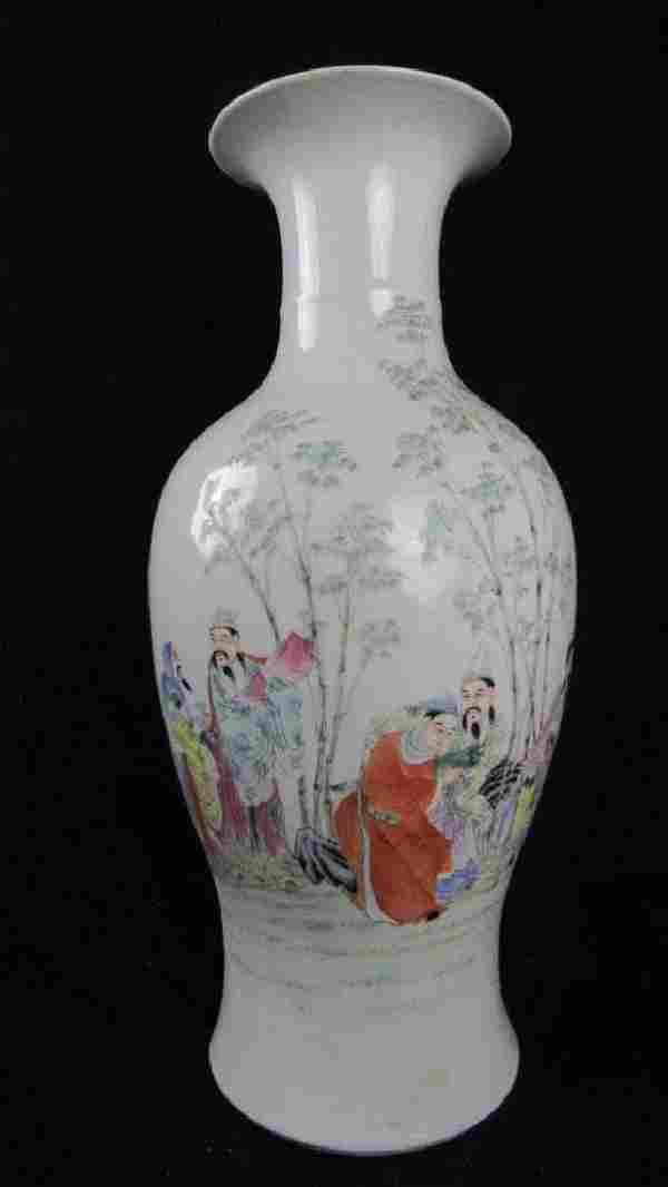 17th Century Chinese Qing Dynasty White Vase