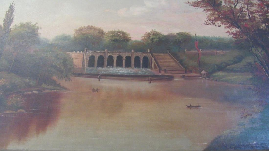 Original Oil Painting of Central Park