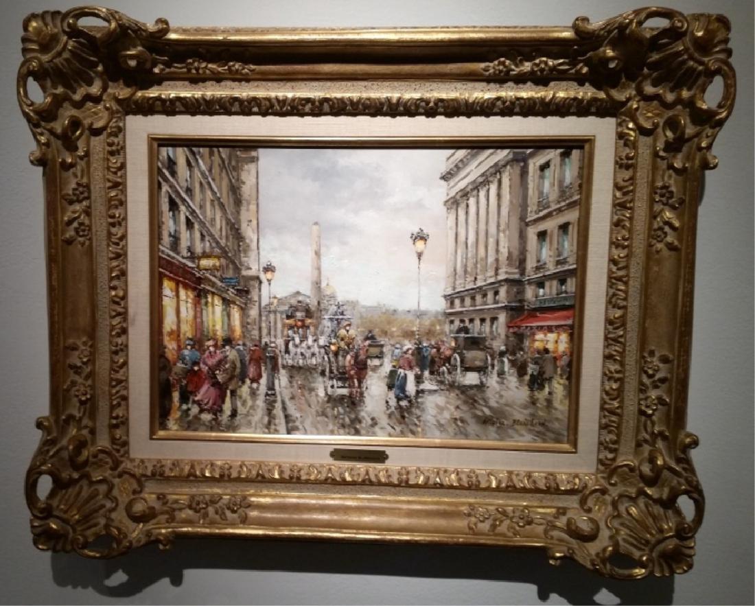 Original Oil Painting by Antoine Blanchard
