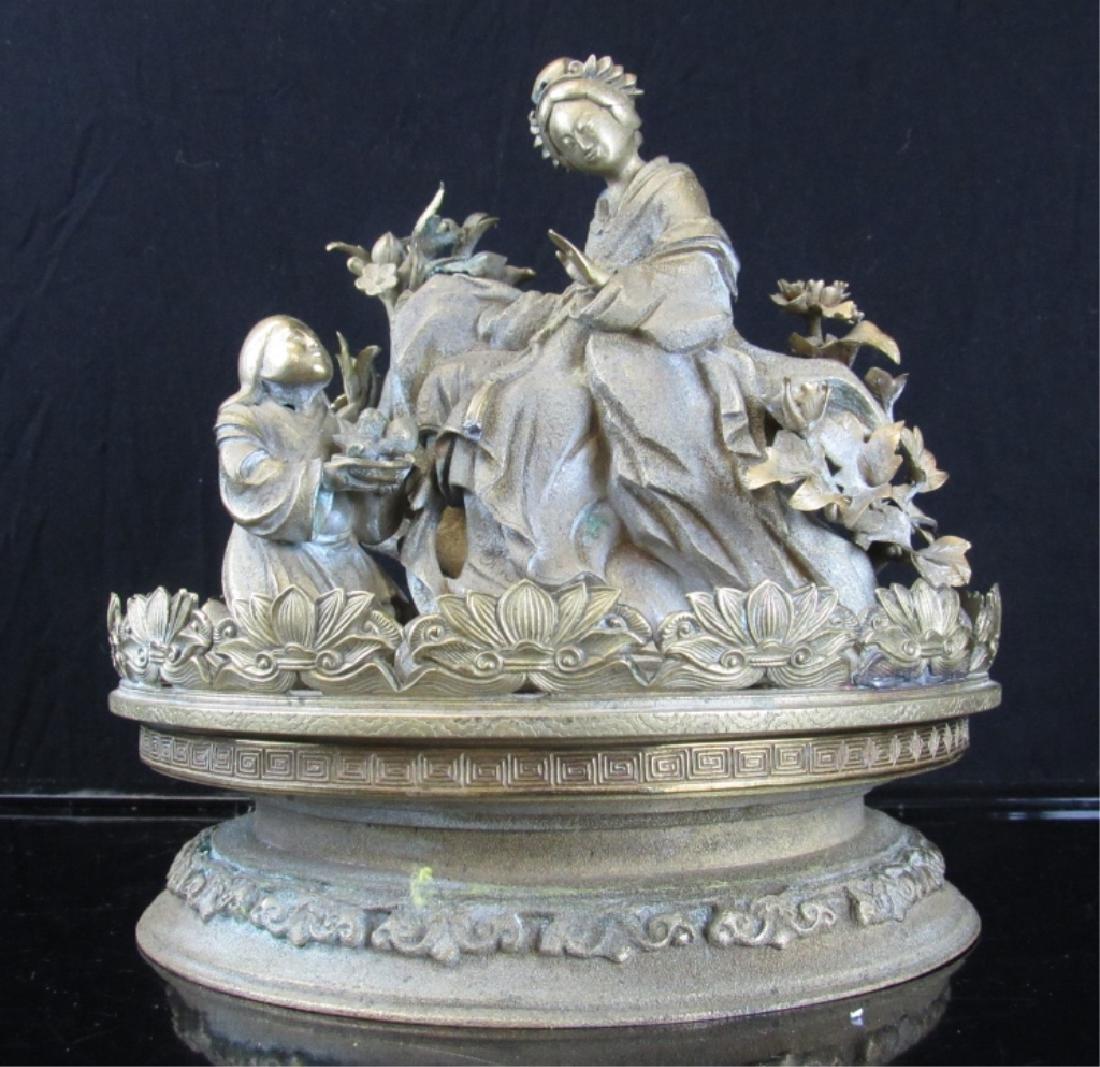 Silver Metal Sculpture - 2
