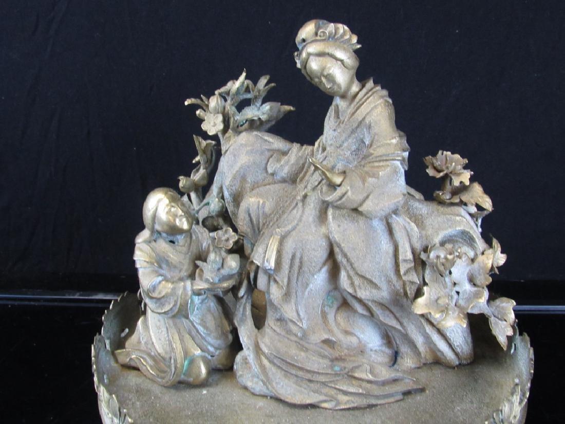 Silver Metal Sculpture - 3