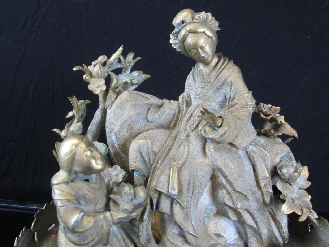 Silver Metal Sculpture - 5