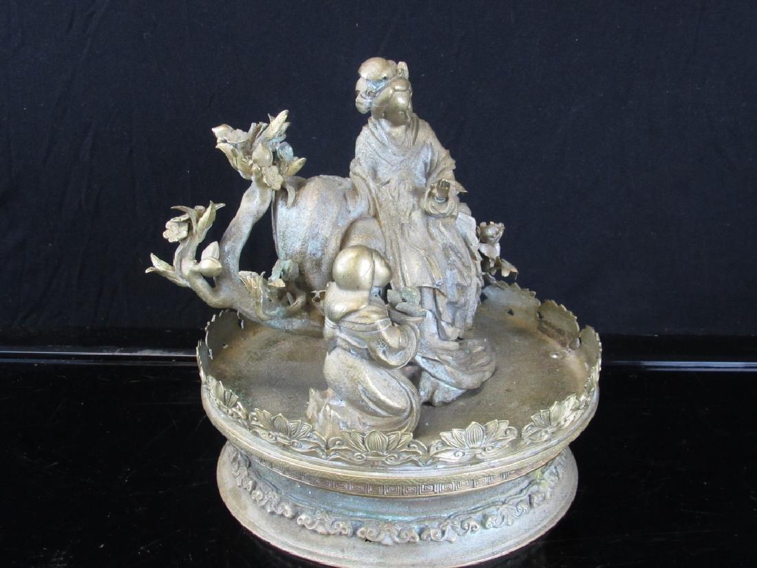 Silver Metal Sculpture - 7