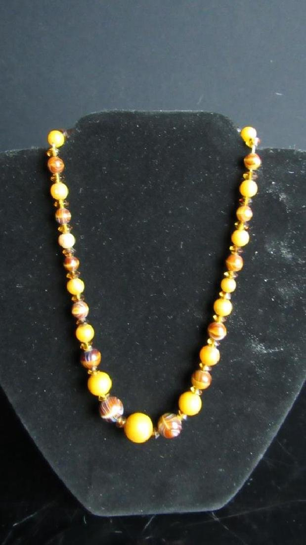 Vintage Beeswax Necklace