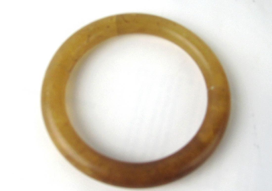 Very Old Tea Color Crystal Bracelet