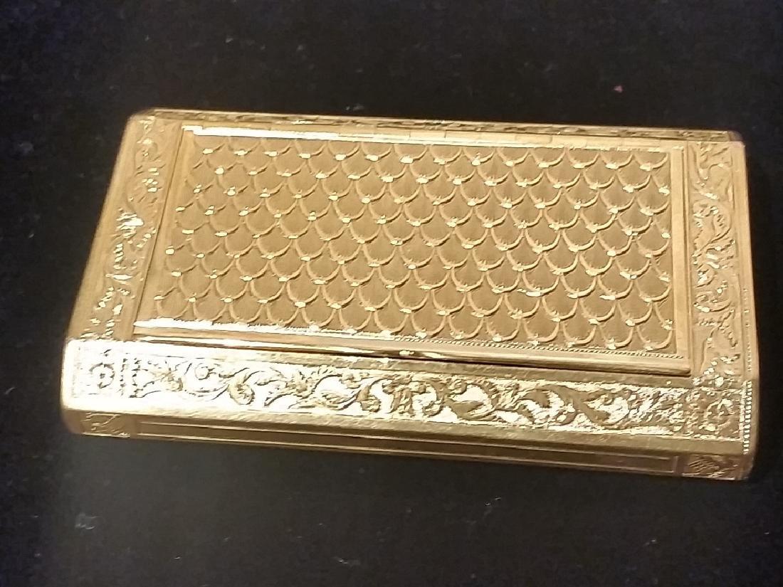 French 18K Gold Snuff-Box