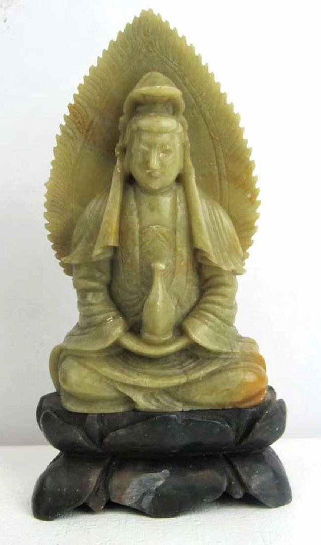 Very Old Soap Stone Budda