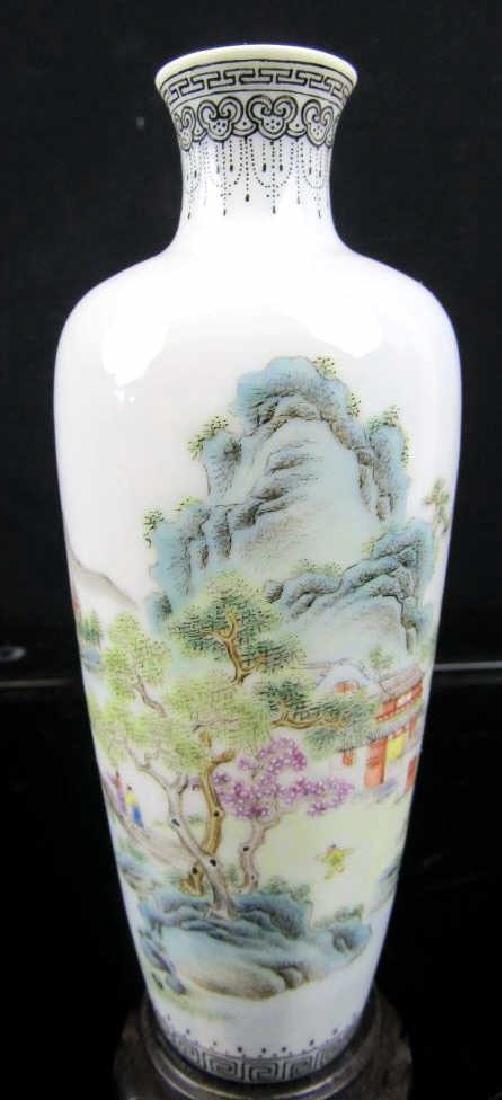 18 Century Chinese Qing Dynasty Porcelain Vase