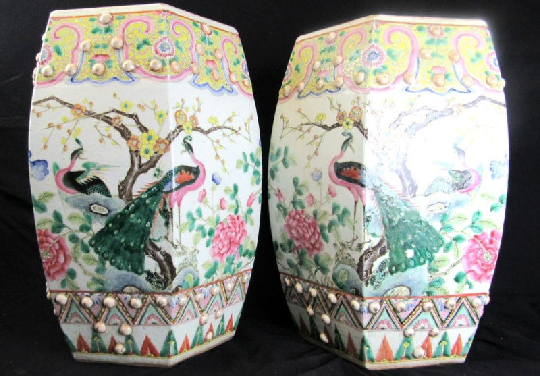 Pair18th Century Qing Dynasty of Chinese Famille