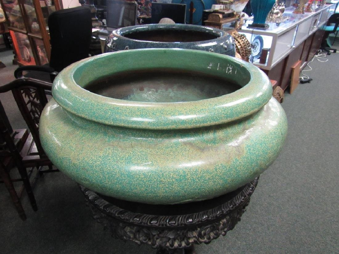Jun Kiln Flower Pot
