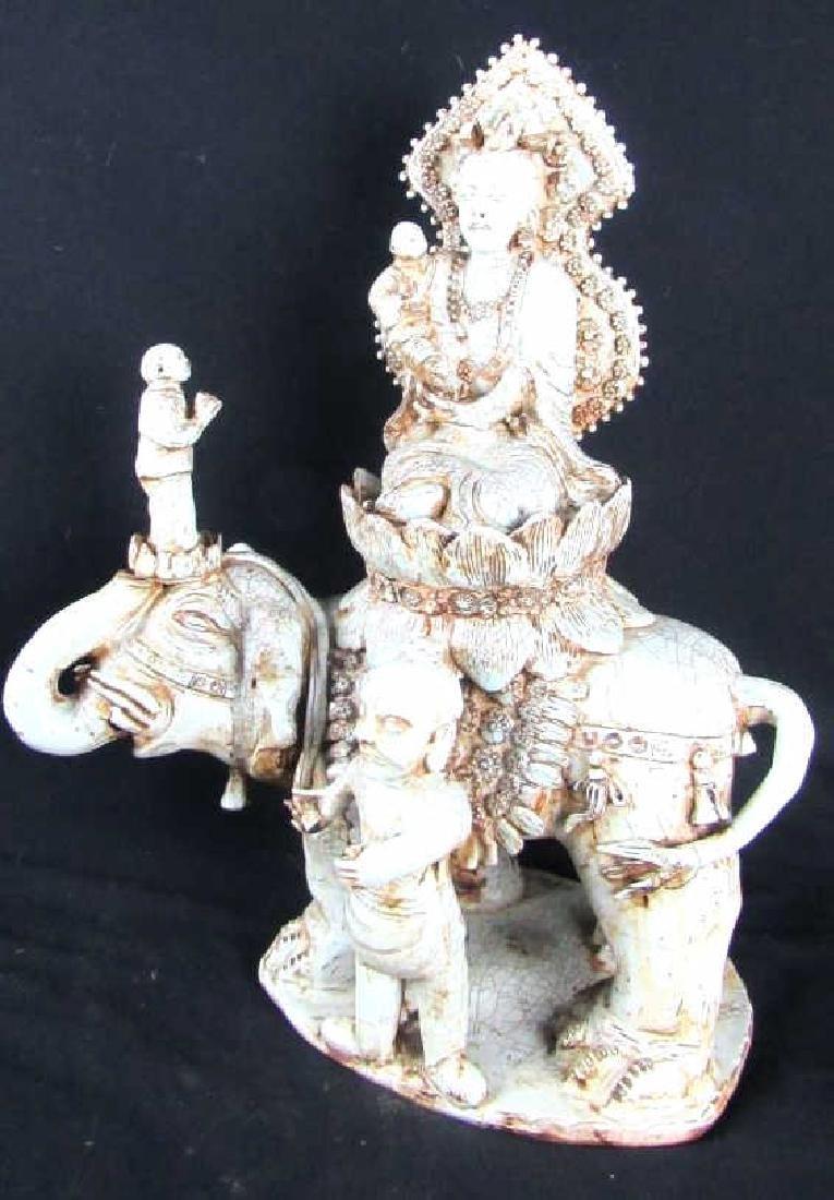 Porcelain Statue of Guan Yin
