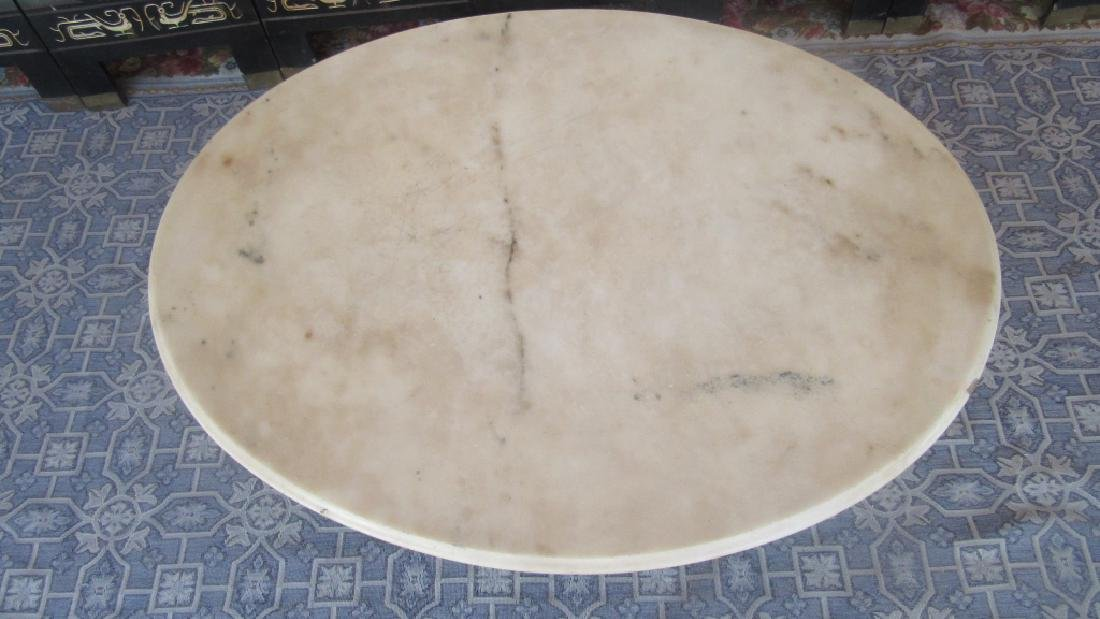 Victorian Marble Top Coffee Table - 3