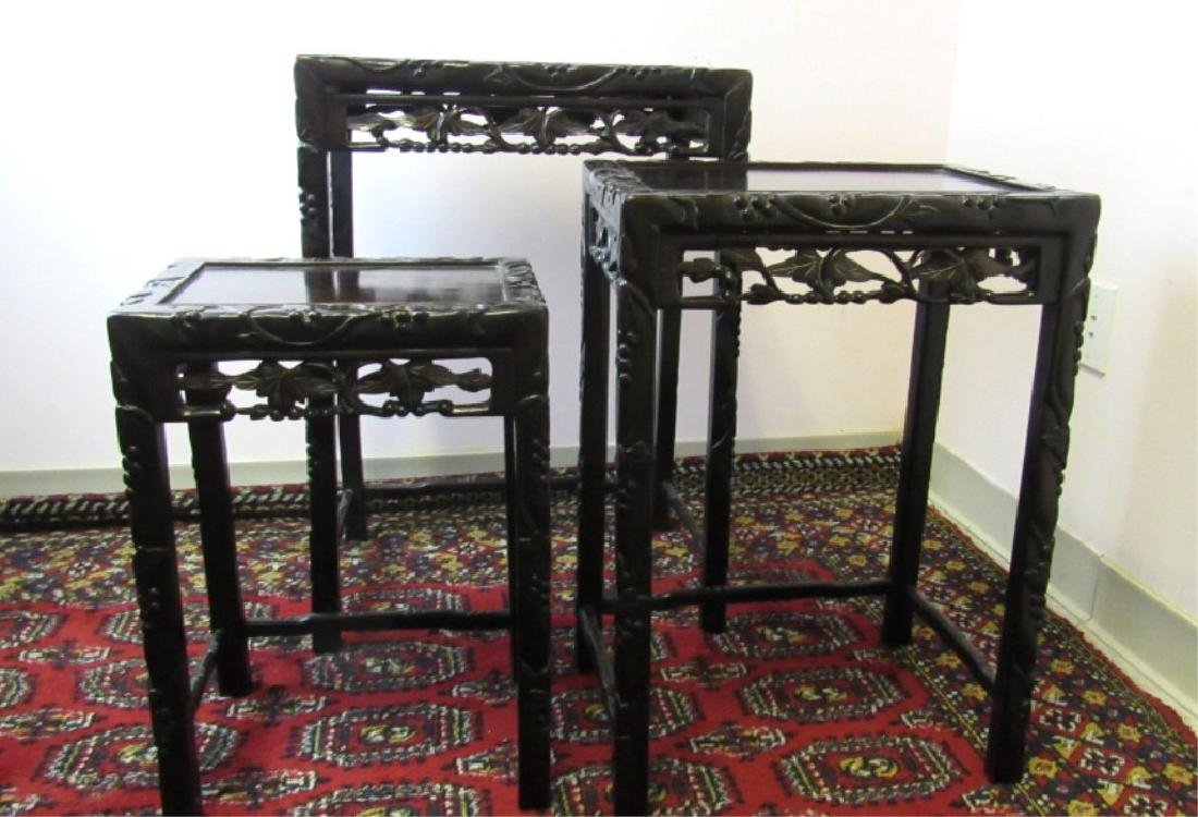 Three of Chinese Qing Dynasty Furniture