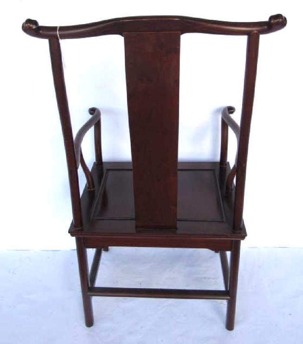 Rare 'Four-Corners-Exposed'Official's Hat Armchair - 4