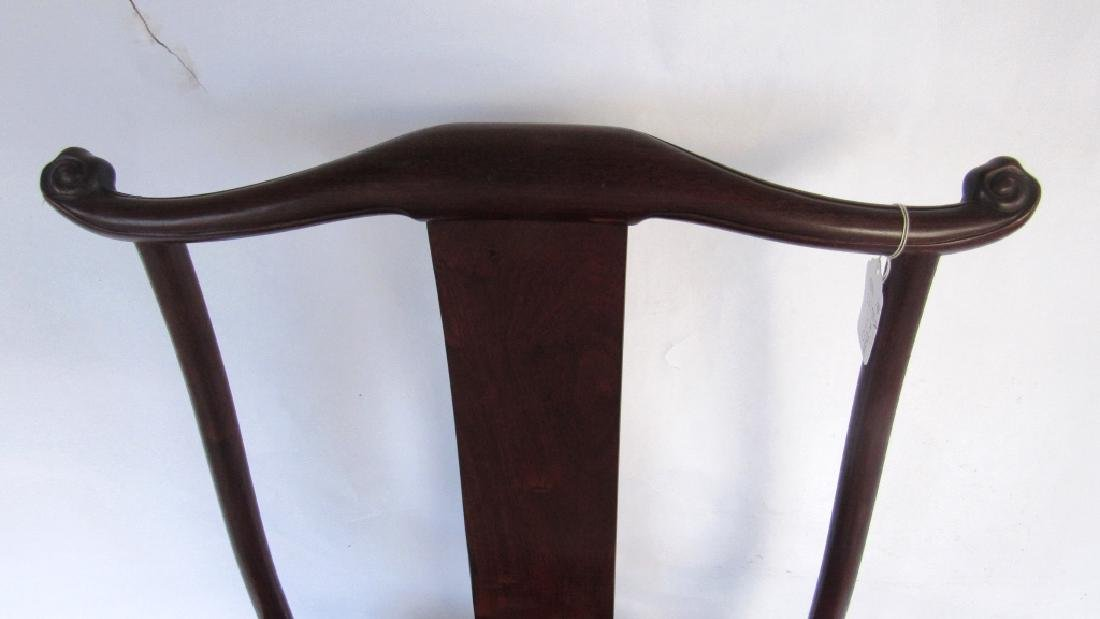 Rare 'Four-Corners-Exposed'Official's Hat Armchair - 6