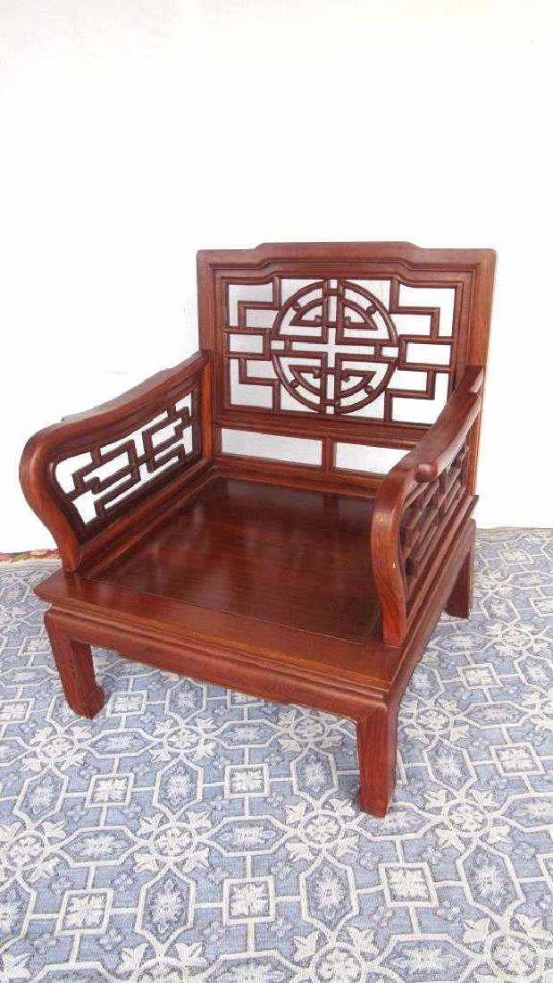 Chinese Huang Huali Wood Chair