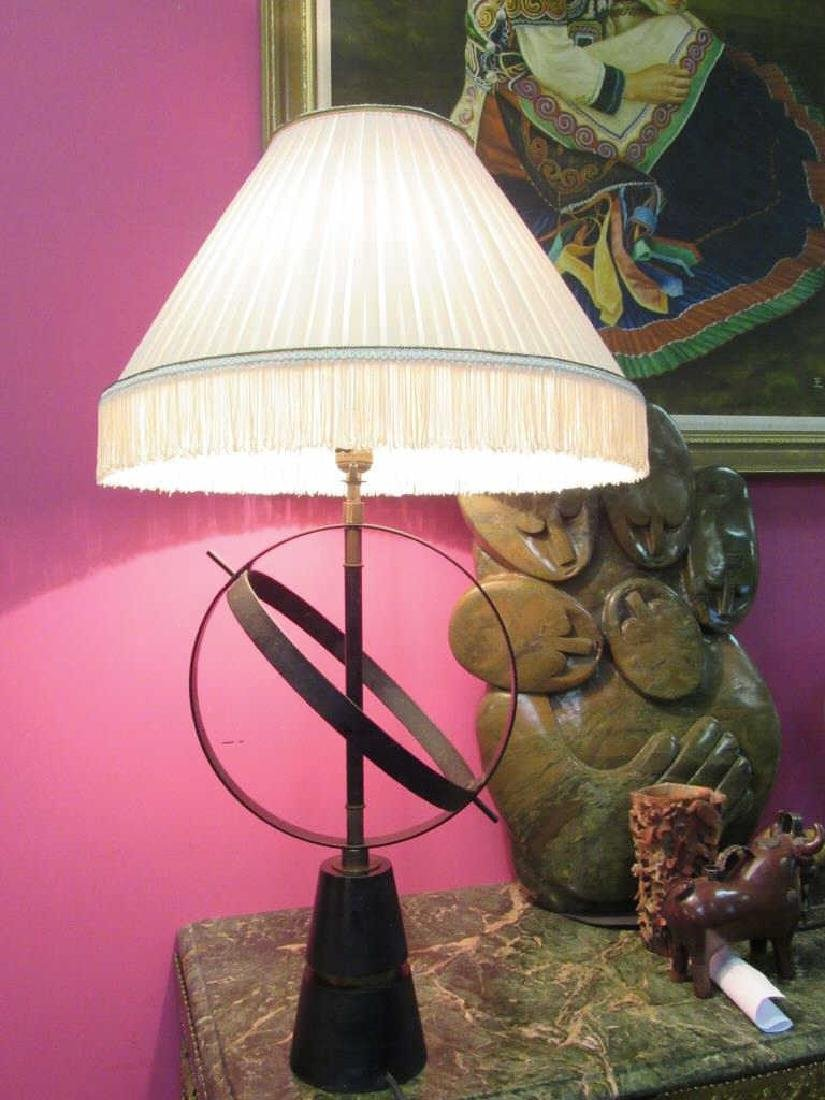 Vintage Gyroscope Table Lamp
