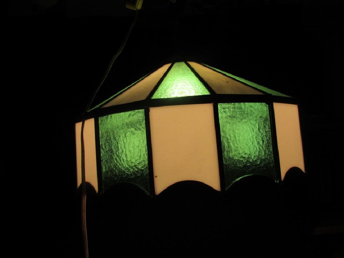 Beautiful Stained Glass Ceiling Light - 2
