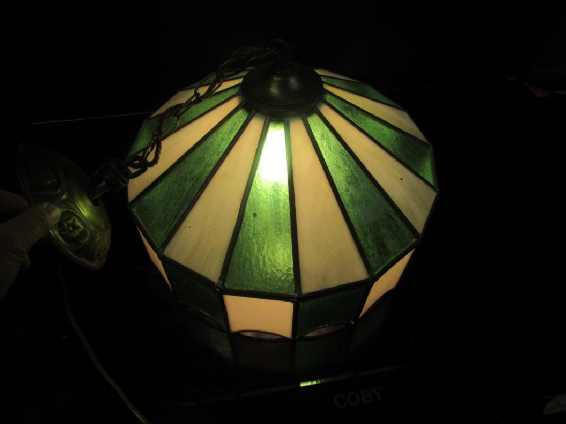 Beautiful Stained Glass Ceiling Light - 3