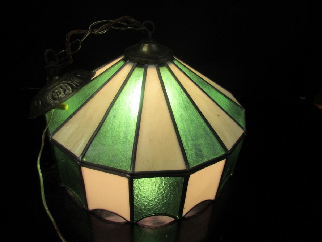 Beautiful Stained Glass Ceiling Light - 4