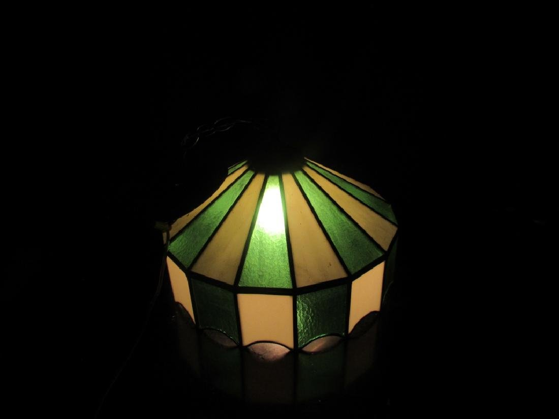 Beautiful Stained Glass Ceiling Light - 8