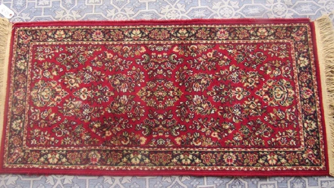 Beautiful Oriental Wool and Silk Carpet