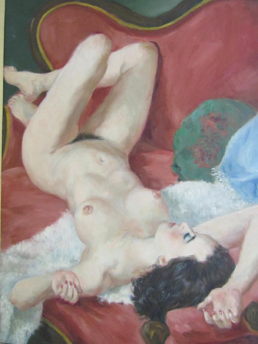 European Nude Oil Painting